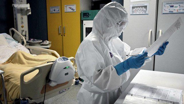Los agentes de la salud son los más expuestos al contagio al Covid-19.