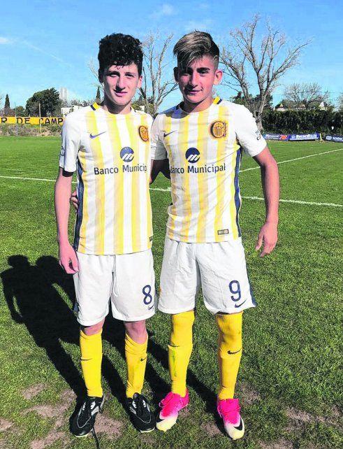 Llegaron a la red. Tanlongo y Escobar convirtieron los goles del triunfo de la 9ª.