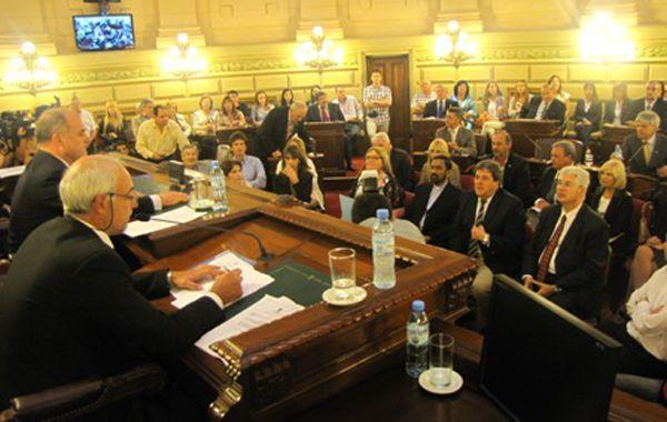 La designación de Barraguirre fue esta tarde en la Legislatura provincial.
