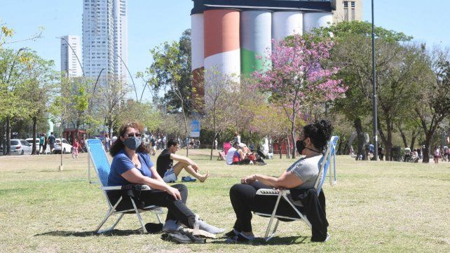 Las reuniones al aire libre son una posibilidad
