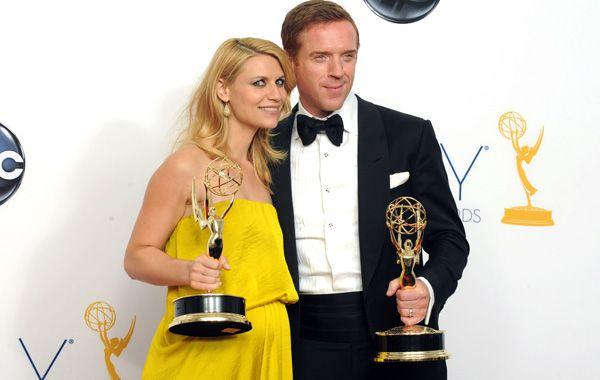 Claire Danes y Damian Lewis fueron premiados por Homeland.