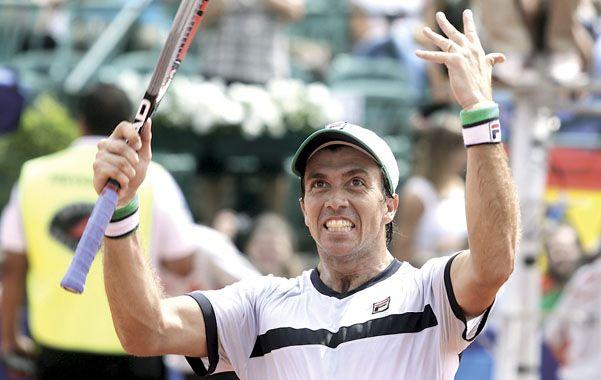 Agradecido. El Gladiador de Chascomús recibió una linda ovación del público que se hizo presente en el Buenos Aires.