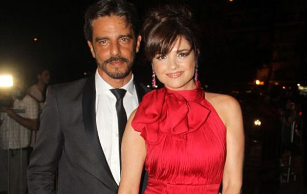 Araceli González y Fabián Mazzei  comenzaron su relación en 2008.
