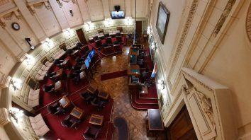 Luz verde del Senado santafesino al Presupuesto de Perotti