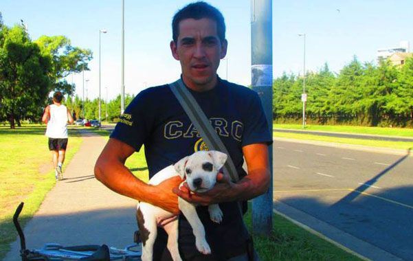 La victima. Martín Prado fue atacado el domingo a mediodía tras salir de una reunión de los Testigos de Jehová.