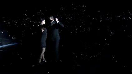 Pampita sorprendió bailando tango con su panza de siete meses