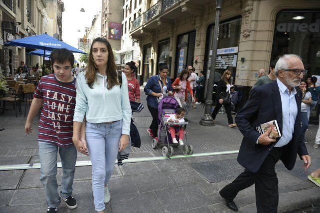 Cómo funciona el semáforo para peatones que se instaló en Córdoba y Corrientes