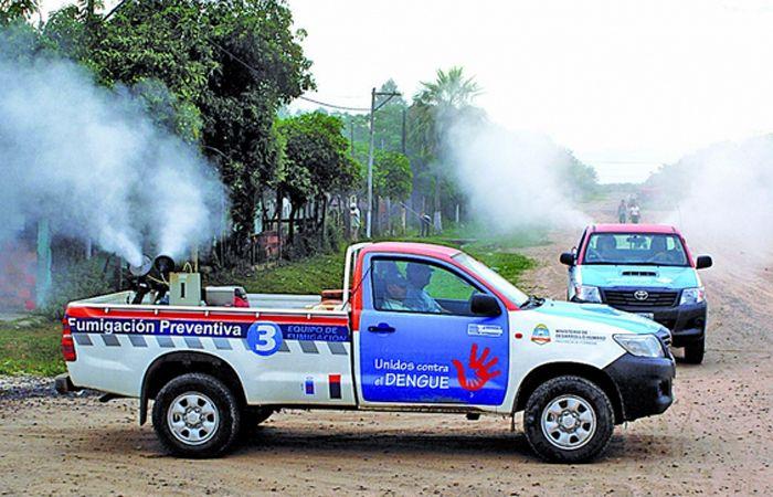 Advierten un inicio preocupante de brote de dengue en el norte del país.