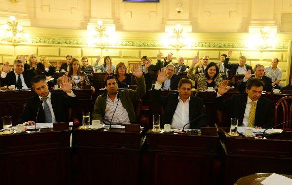 Media sanción. La Cámara baja provincial aprobó por amplia mayoría el proyecto de ley de descanso dominical.