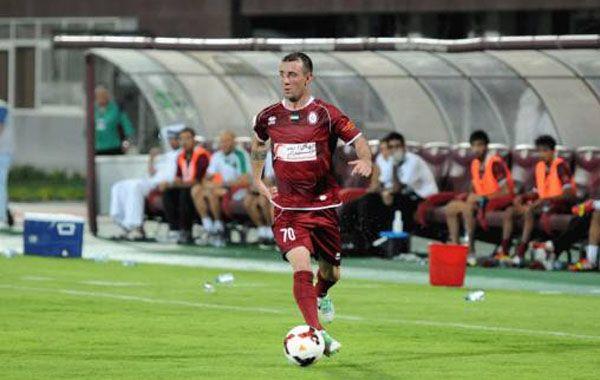 El Kitu Díaz hace dos años que está jugando en Arabia.