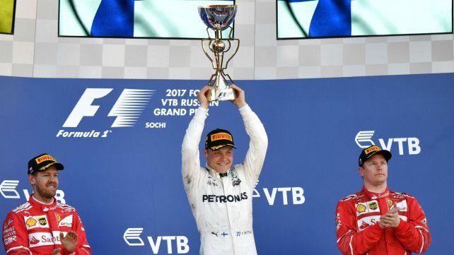 Valtteri Bottas se adjudicó su primera victoria en la Fórmula Uno.