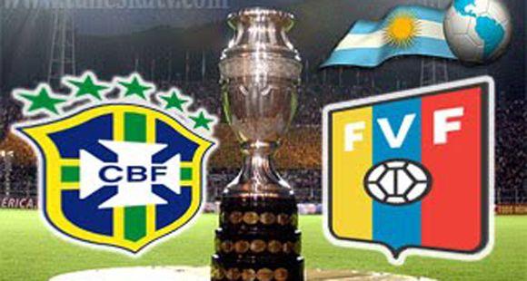 Debut y decepción: Brasil dominó todo pero no pudo doblegar a Venezuela