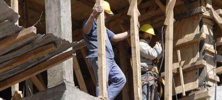 La construcción mantiene el declive con una caída de 5,8 por ciento en noviembre