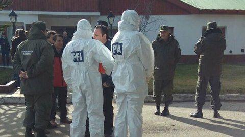 rastros. La Policía Federal había allanado dependencias de Gendarmería y se llevó muestras para analizarlas.