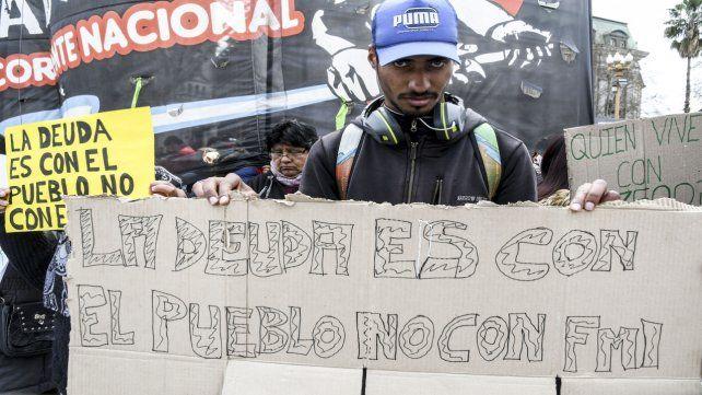 La calle. La semana pasada las marchas presionaron a legisladores.