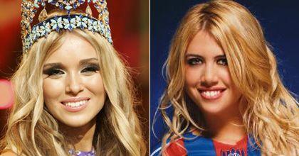 Teléfono para Wanda Nara: la nueva Miss Mundo está fascinada con Maxi López