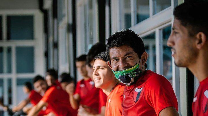 Domínguez piensa en cambios ante Independiente
