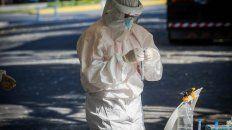 rosario registro 76 muertes por coronavirus en lo que va de enero