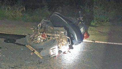 Accidente fatal en la Ruta Provincial 1