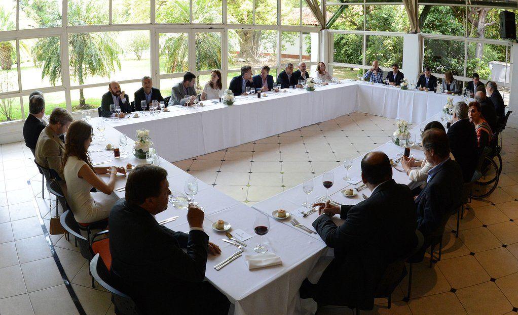 El presidente y los gobernadores de las 24 provincias