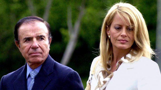 Carlos Menem y Cecilia Bolocco mantuvieron una relación tensa.