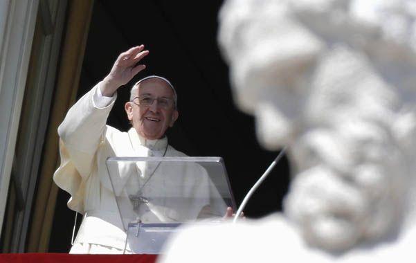 """El Santo Padre. Francisco convocó a los fieles a """"sostener la lucha contra la mentalidad mundana""""."""