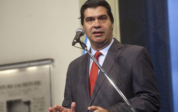 Tapones de punta. Jorge Capitanich cargó contra la oposición y la manipulación de la información de los medios.