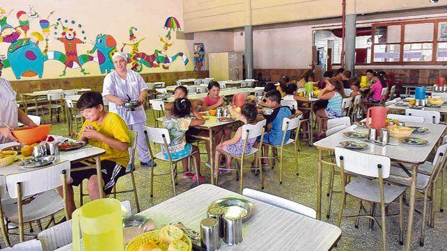 partidas. La provincia incrementó un 37% el monto destinado a las raciones escolares.