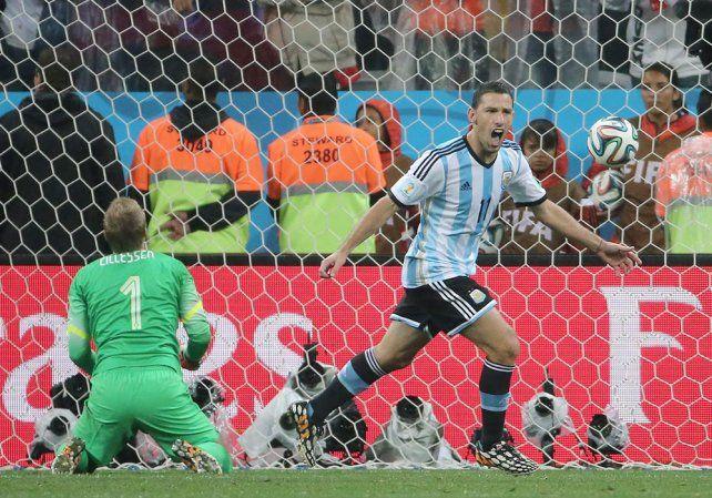 A Maxi Rodríguez lo llamaron para la selección