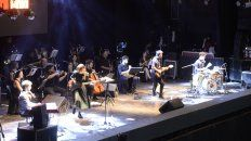 Sinfónico. Música para Volar convocó el viernes 1300 personas en el Anfiteatro.