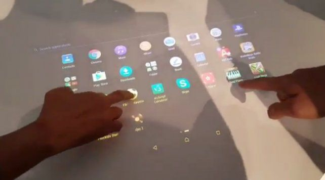 El proyector que transforma cualquier pared o mesa en una pantalla táctil