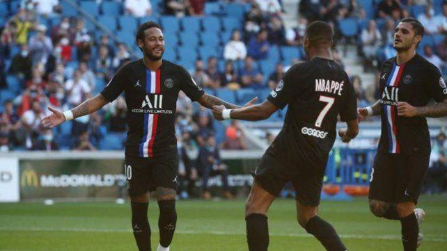 Con Público. La liga francesa se disputa con cupos de asistentes en los estadios.