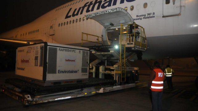 En la semana llegaron al aeropuerto de Ezeiza 2