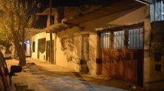 La casa donde vivía Nico Velázquez y a la cual fueron a buscarlo para quitarle la vida.