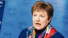 La director gerente del FMI, Kristalina Georgieva, dialogó por videoconferencia con el presidente Alberto Fernández.