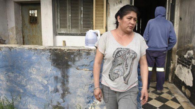 sin respuestas. Paola pidió custodia policial para su casa