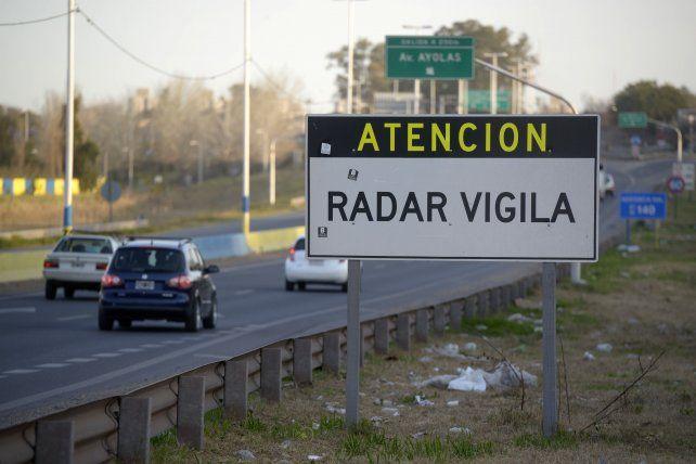 En tres días ya hicieron 145 multas con radares en Circunvalación