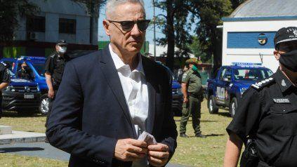 El ex jefe de la cartera de Seguridad de la provincia.