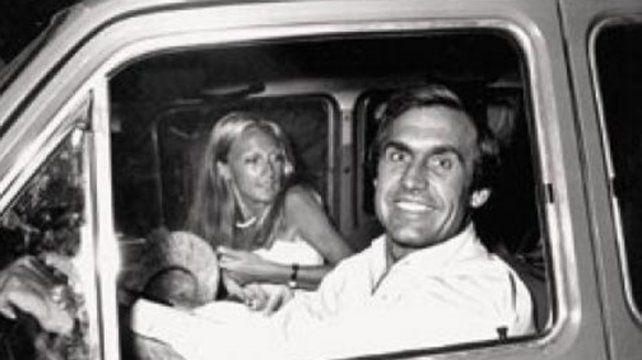 Lole y Mimicha Bobbio cuando compartían su días como pareja en la vida cotidiana y en los circuitos de F1.