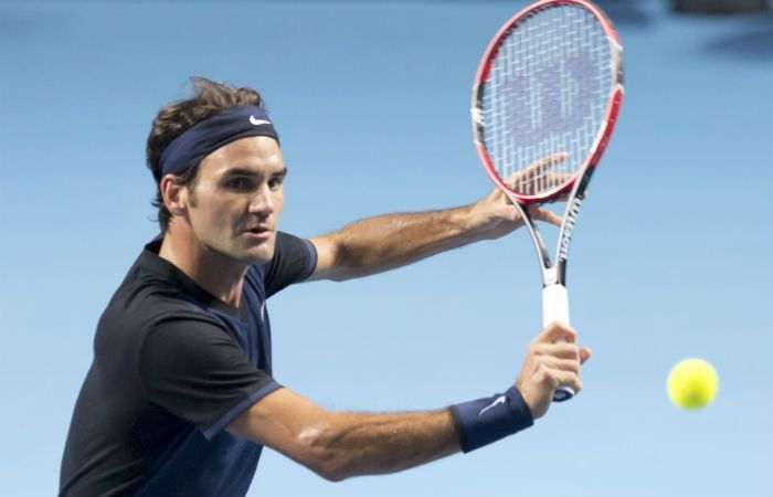 Anfitrión. Federer espera coronarse por séptima ocasión en su ciudad natal.