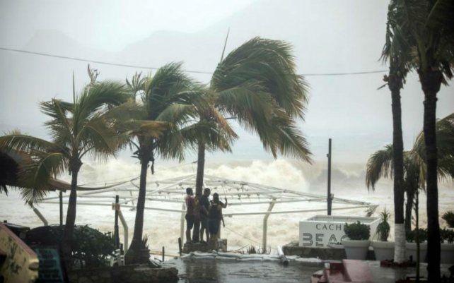 Tempestad. Vientos azotan la costa noroeste del país.