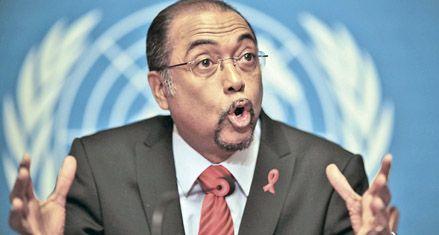 Fuerte caída de nuevos contagios del virus del sida a nivel mundial