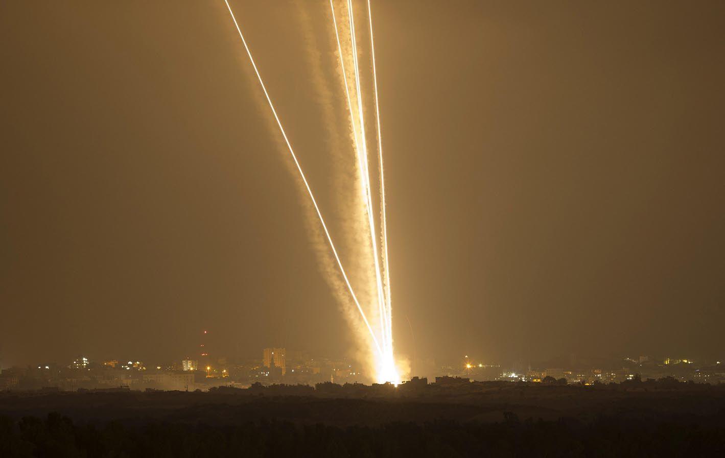 Cohetes. Las armas de esta clase lanzadas por Hamas ya superan las dos mil unidades.