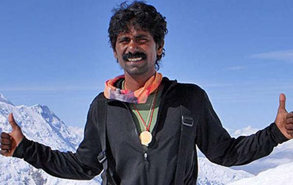 El escalador indio murió en la cordillera de los Andes.