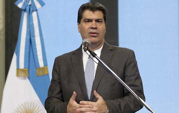 Capitanich acusó a Sabsay de faltar el respeto a la presidenta