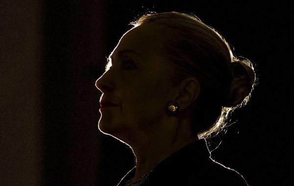 Hillary es por el momento la única aspirante a la investidura presidencial demócrata