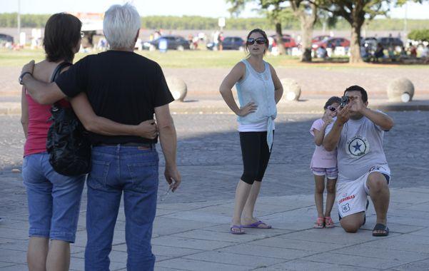 Actividad en auge. Cada vez son más los turistas que visitan Rosario.