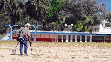 Hace un tiempo en Corrientes nos juntamos en un campo donde habían acampado tropas de la guerra de la Triple Alianza. Ahí había de todo