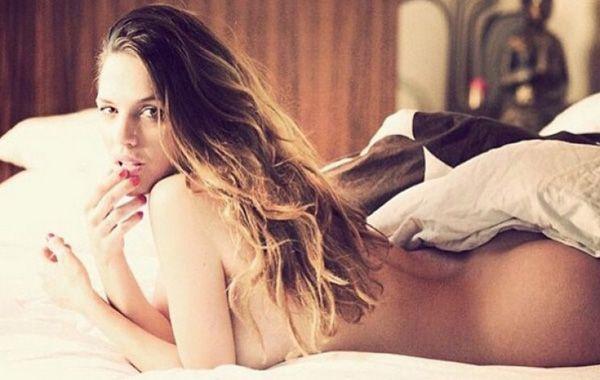 La sensual morocha posó al desnudo y generó repercusión con la imagen.