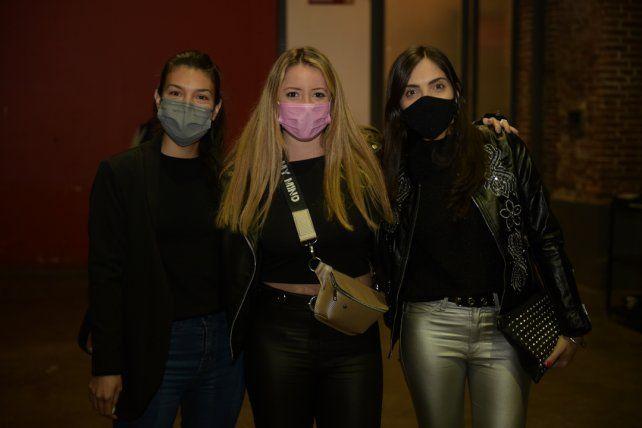 Ariana Robles, Natali Tovares y Sol Franci